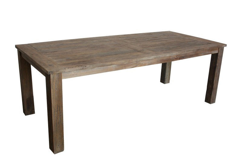 Tafel top dinklik koplat top 3cm Blank 160*90