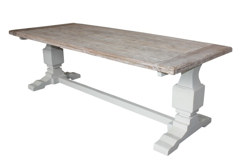 Tafel Sonora White wash/Ral wit