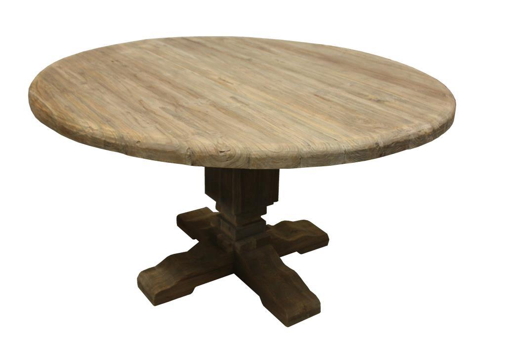 LP-Tafel Sonora rond Old gray ø 100*77