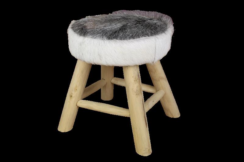 Lounge Stoel Slaapkamer : Bar stoel small met geitenhuid - Producten ...
