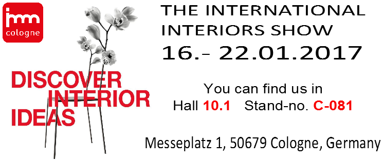 The International Interiors Show 16.- 22.01.2017
