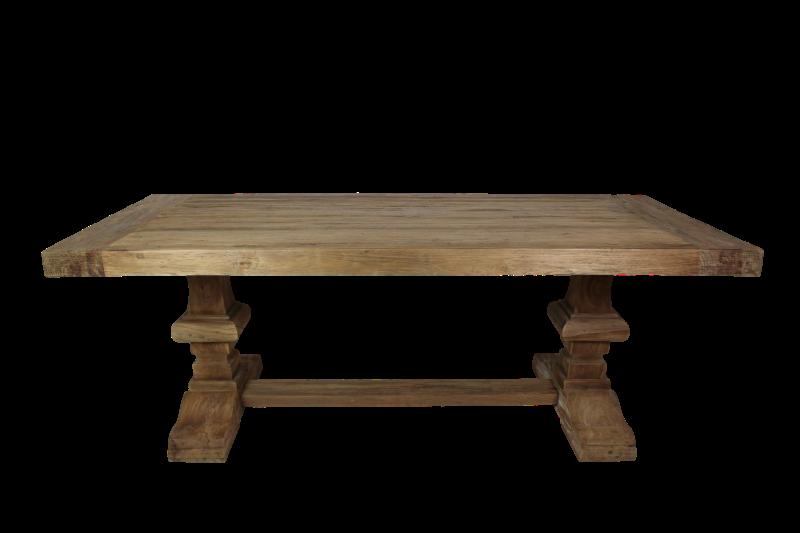 Henk schram houten meubelen for Table 220x100