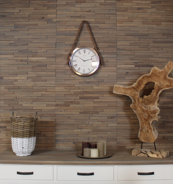 Oak Wall Panel 3D 62*30*2 Savanne Grey/ set 6pcs-1.11 m2