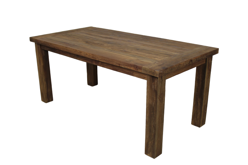 table rustic unfinished