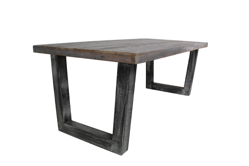 Dinig table Urban Vintage grey 210*100*80