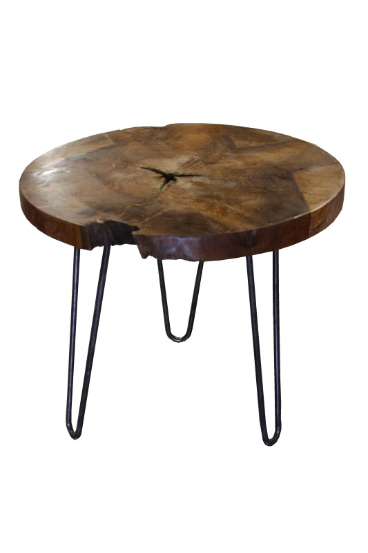 Teak root round table Blank 55*55*50