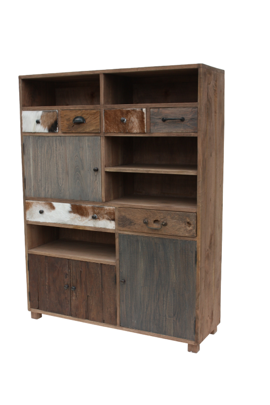 Cabinet Texas Bio color dark teak 110*35*145