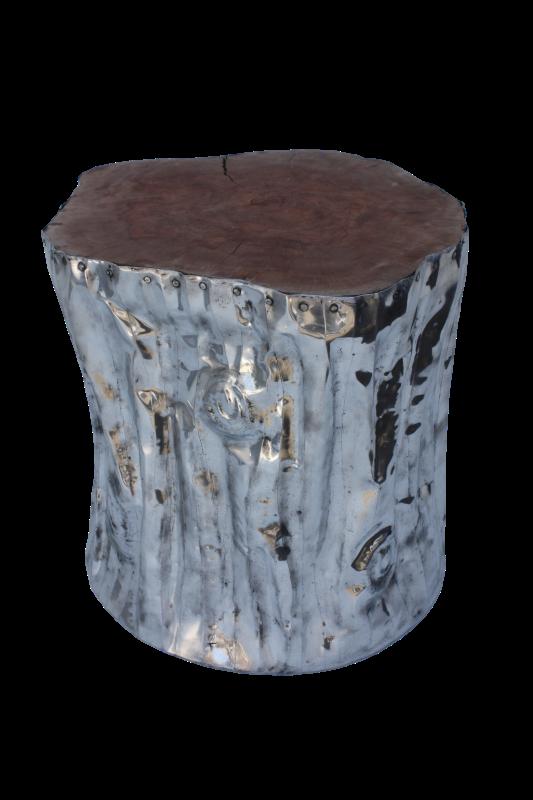 Tree Stool Leci/Alluminium 40*40*45