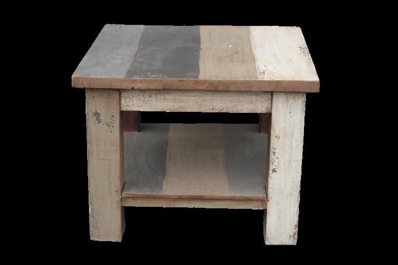 Salon tafel boat groen grijs wit 60 60 45 producten henk schram houten meubelen - Decoratie salon grijs wit ...